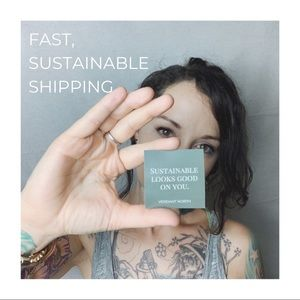 FAST, No Frills, Sustainable Shipping!